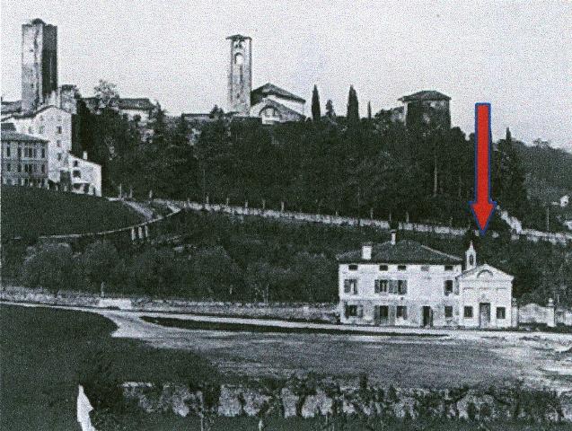 chiesetta_san_rocco_con_freccia_inizio_Novecento