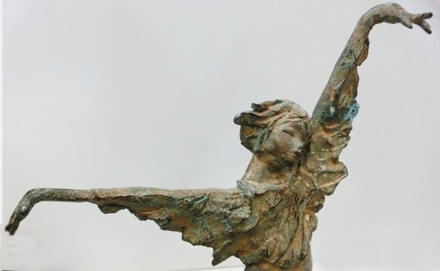 1980_-_anni_-_uccello_di_fuoco_-_cc_-_balletto_-_dettaglio_-__bronxo_35x25x_7_-_CIMG8842