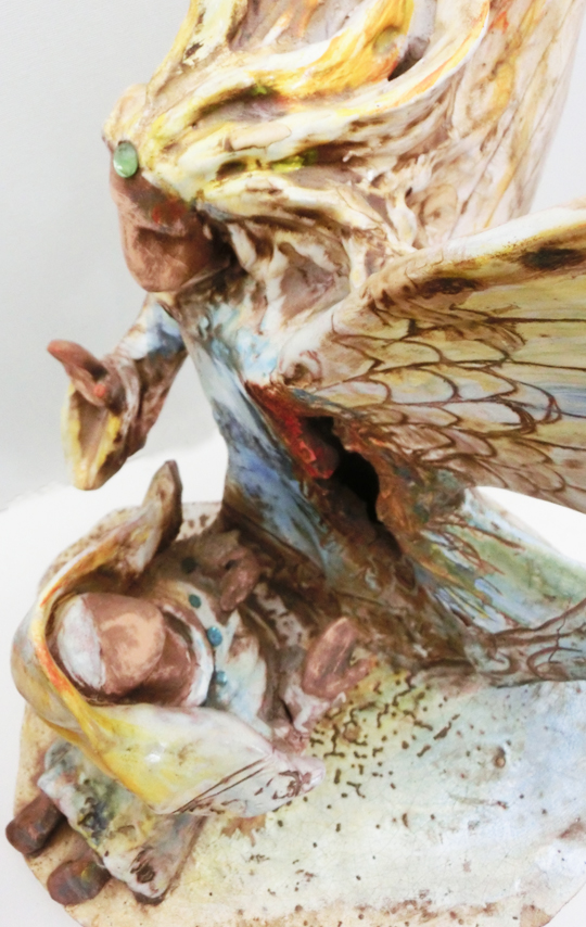 2010_-_annunciazione_-_004_-_540x_-_annuncio_della_morte_di_cristo_-sepolcro_-_ceramica_neoforismo_-_60x40x30_-_CIMG8903