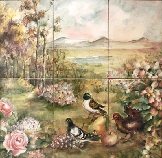 BATTISTELLO_BENITO_-_MAROSTICA_-_quadro_009_-_40x40_uccelli_fiori_e_panorama----560X_-------_2017-10-07_-_