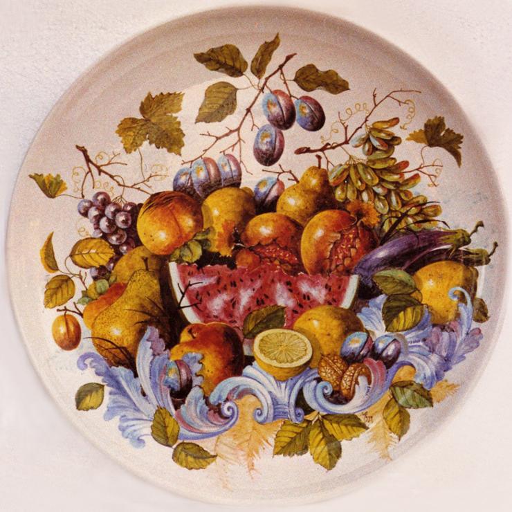 Z-POZZA-CERAMICA796_-_frutta_-_piatto_decorato_sotto_vernice_opaca_-_80_cm_-_1988_-----740x740_----_