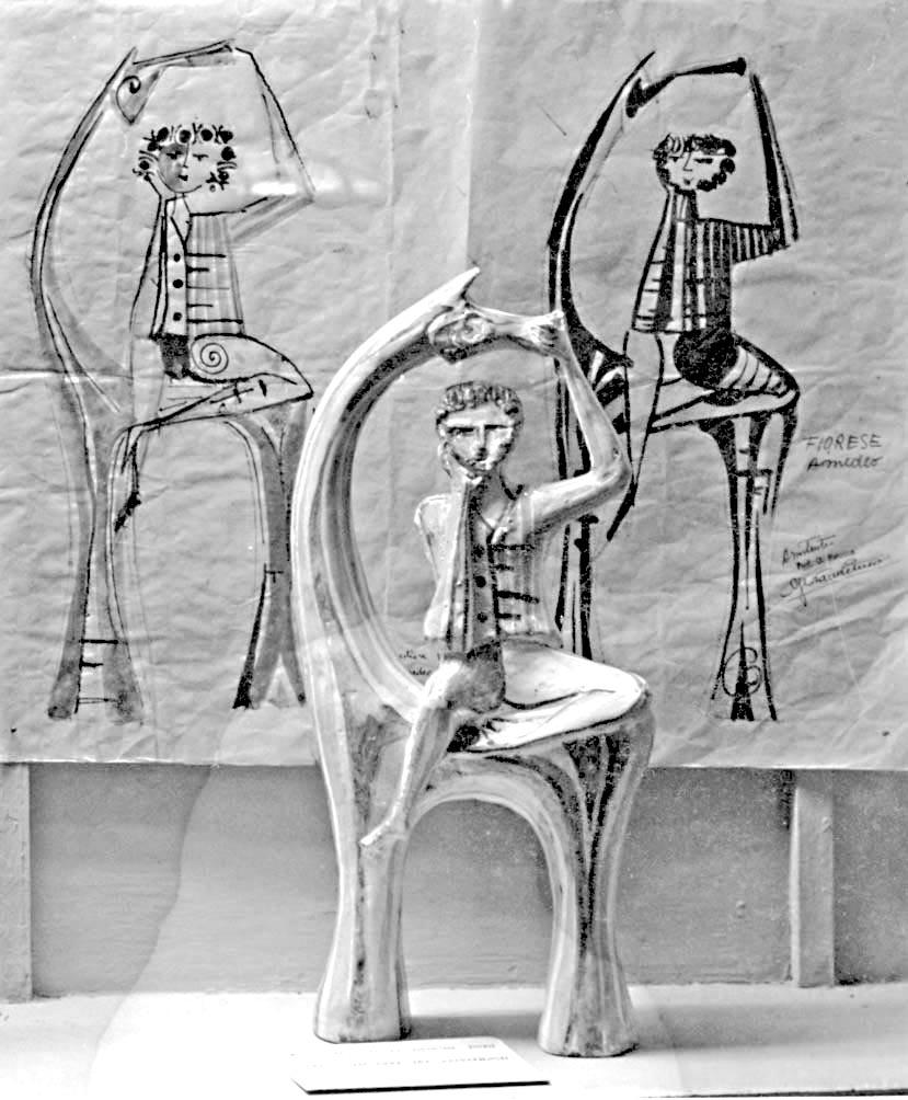 1956_-_CAVALLO_E_CAVALIERE_1956_-_refrattario_maiolica_ossidi_-_60_x_27_x_8_cm.page1