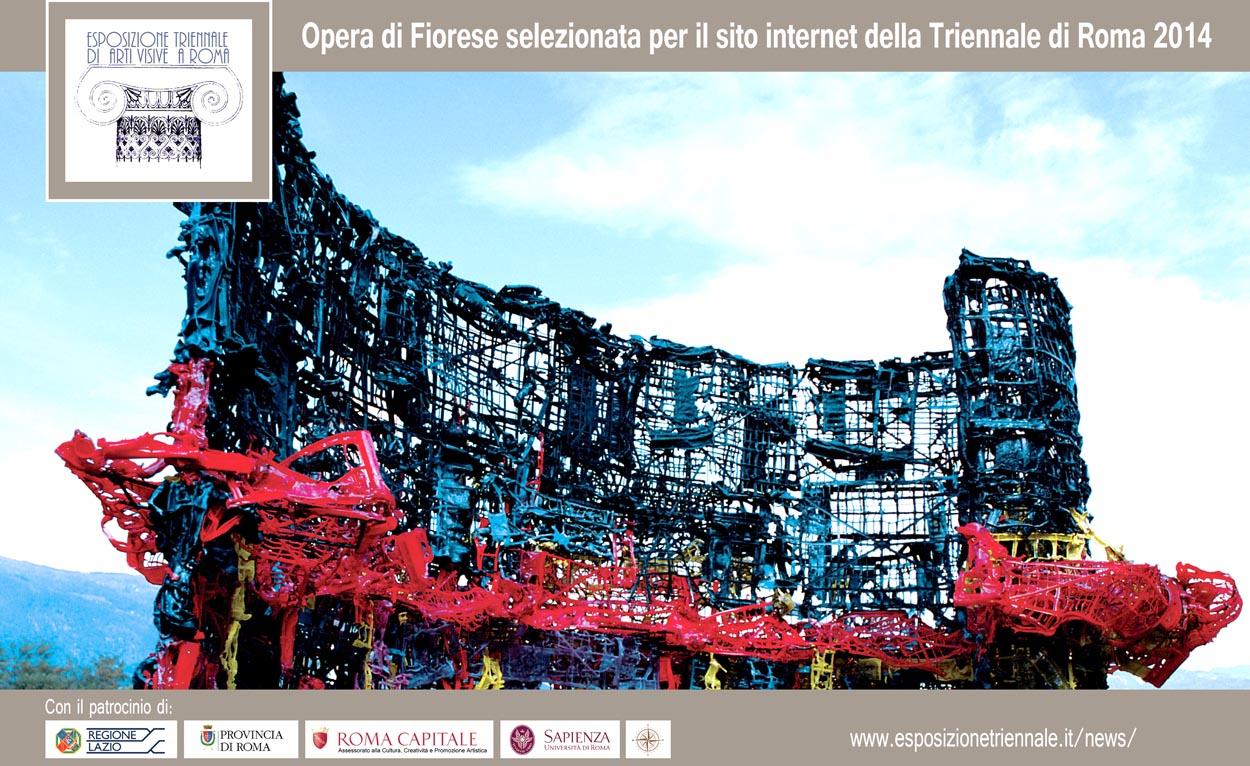 2014_---_Triennale_Roma_2014_-_Inno_alla_contemporaneita_plastica_e_ferro_177x285x175cm_2003_