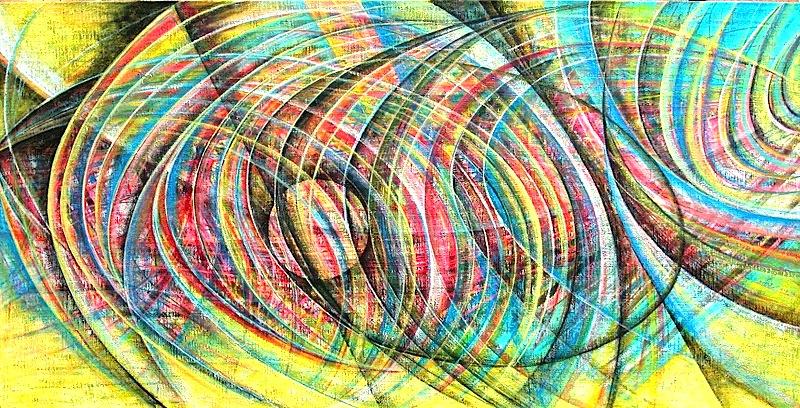 2004_-_Comunicazioni_2004_Smalti_su_tela_177x90cm_---8000_---