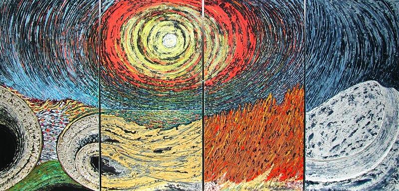 2005_-_Le_quattro_stagioni_2005_Smalti_su_tela_n._4_pz_120x625cm_----_800L_------