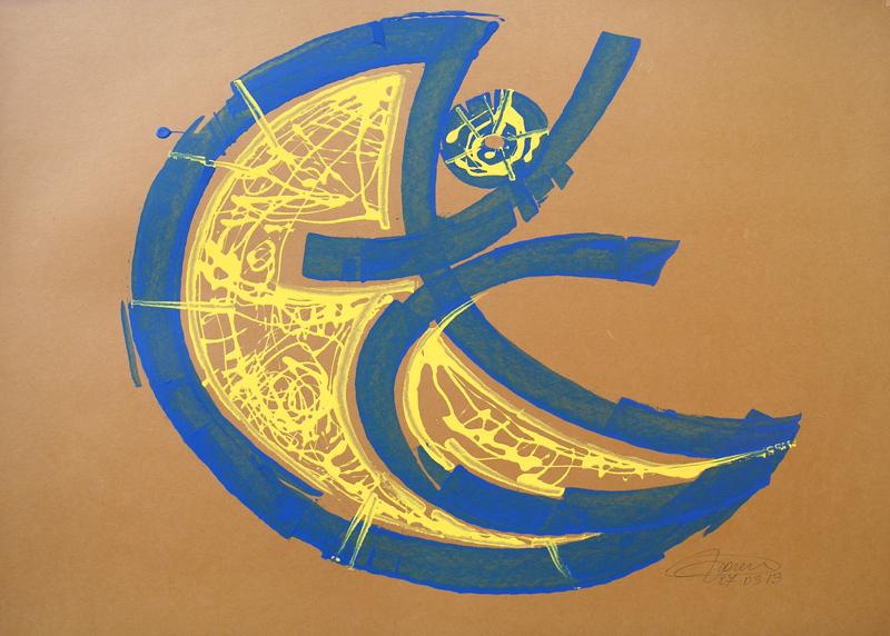 21_Studio_di_figura_2013_---_800X_---__Smalti_su_cartoncino_50x70cm